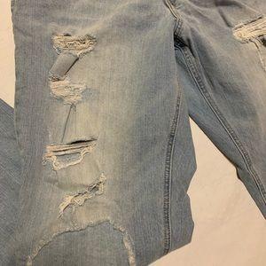 Never Mind Boyfriend Distressed Jeans